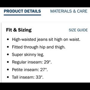 Old Navy Jeans - Old Navy rockstar super skinny high rise 12